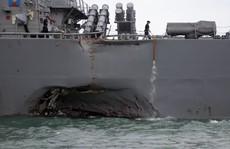 Hạm đội 7 của Mỹ bị 'tấn công mạng'?