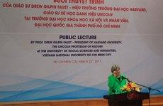 Hiệu trưởng ĐH Harvard: Đến Việt Nam để hiểu nước Mỹ