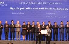 Vinamilk đồng hành cùng sự phát triển của TP Hà Nội