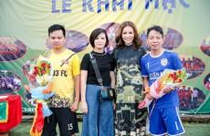 Khi hoa hậu quý bà tổ chức giải bóng đá 'phủi'