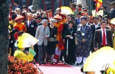 Nhật hoàng thưởng thức Nhã nhạc cung đình Huế
