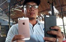 Cướp nhầm điện thoại iPhone đang bật định vị