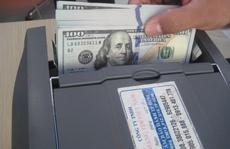 Giá USD ngân hàng đột ngột giảm mạnh