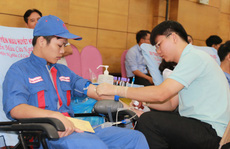 Động viên người lao động hiến máu tình nguyện