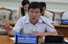 Chủ tịch UBND TP HCM Nguyễn Thành Phong: 'Hôm nay chỉ bàn vỉa hè'