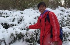 Ánh Viên nghịch tuyết, tập luyện quên Giao thừa trên đất Mỹ