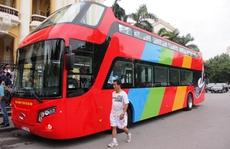 Hà Nội có xe buýt 2 tầng mui trần tha hồ ngắm phố cổ