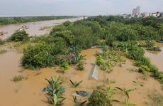 Thủy điện Hòa Bình xả đáy, dân xóm chài sông Hồng thấp thỏm