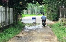 Đầu tư 7 tỉ đồng làm đường qua nhà lãnh đạo huyện