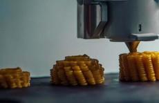 Làm ra thức ăn bằng... máy in 3D