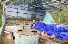 Kho hóa chất 'Made in China' ở Quảng Bình chỉ là chất tẩy rửa?