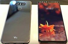 LG V30 rò rỉ, smartphone 2 màn hình, 4 camera
