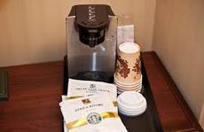 Không nên dùng máy pha cà phê ở khách sạn