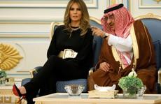 Vợ con Tổng thống Trump quyến rũ Ả Rập Saudi