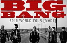 Big Bang dẫn đầu bảng xếp hạng hút khán giả