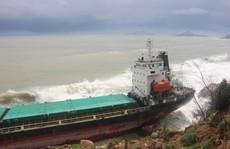 Bình Định yêu cầu khẩn trương trục vớt 9 tàu hàng bị chìm