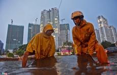 TP HCM: Tiền bán đất không đủ chống ngập