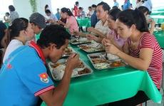 Nâng cấp nhà ăn cho công nhân