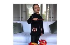 Cháu gái 5 tuổi của ông Trump 'đốn tim' cư dân mạng Trung Quốc