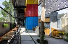 Độc đáo nhà nghỉ container