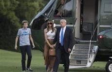 Vợ con Tổng thống Donald Trump chuyển đến Nhà Trắng