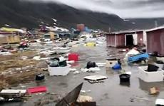 Động đất, sóng thần bất thường càn quét Greenland