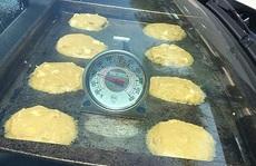 Mỹ: Nắng nóng tới mức nướng chín bánh trên ô tô