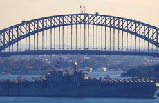Mỹ-Úc tập trận lớn chưa từng thấy, gởi thông điệp tới Trung Quốc