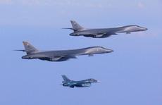 Mỹ điều 2 oanh tạc cơ B-1B kèm thông điệp 'dằn mặt' Triều Tiên