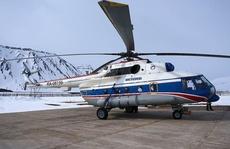 Thêm trực thăng Nga rơi ở Bắc Cực