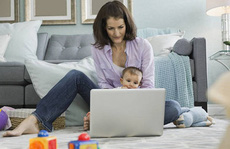 Khi vợ bán hàng 'online'!