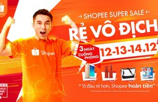 Shopee mở bán 120.000 mặt hàng giá siêu rẻ