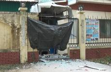 Nổ banh cây ATM lúc rạng sáng, phòng bảo vệ rung chuyển