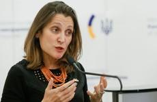 Canada tung đòn trả đũa Venezuela
