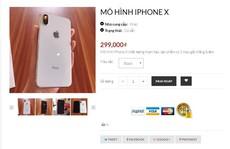 Bỏ 22 triệu mua iPhone X, nhận được mô hình tại Sài Gòn