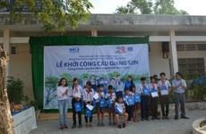 OSLA và CLB Bóng đá HAGL khởi công xây dựng cầu Giang Sơn