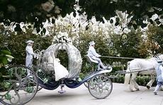 Đám cưới cổ tích của cặp đôi 'con nhà giàu' ở Singapore