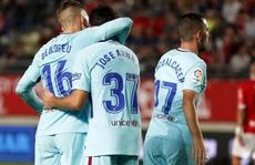 Trình làng hàng công mới, Barcelona trút giận ở Cúp Nhà vua
