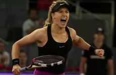 'Kiều nữ' Bouchard loại số 2 thế giới tại Madrid Open