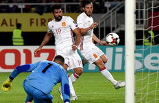 Chelsea hắt hủi, Diego Costa tỏa sáng ở tuyển Tây Ban Nha