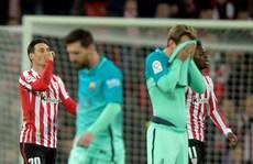 Barcelona nhận cú sốc đầu năm ở Cúp Nhà vua