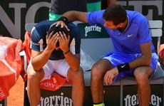 Khoảnh khắc Del Potro 'đốn tim' khán giả Roland Garros