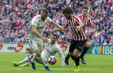 Thoát hiểm ở San Mames, Real Madrid củng cố ngôi đầu La Liga