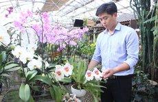 'Soái ca' hoa lan ở Đà Lạt