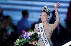 Cận cảnh nhan sắc tân Hoa hậu Hoàn vũ