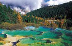 Thung lũng suối nước nóng khổng lồ ở Trung Quốc