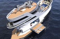Siêu du thuyền 'lai' tàu cướp biển
