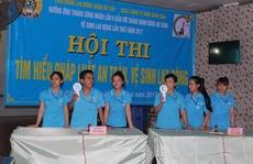 Nâng cao kiến thức an toàn, vệ sinh lao động cho công nhân