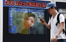 Triều Tiên 'tập dượt' cho kế hoạch bắn tên lửa tới Guam?