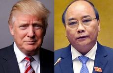 Tổng thống Donald Trump tiếp Thủ tướng Nguyễn Xuân Phúc tại Nhà Trắng